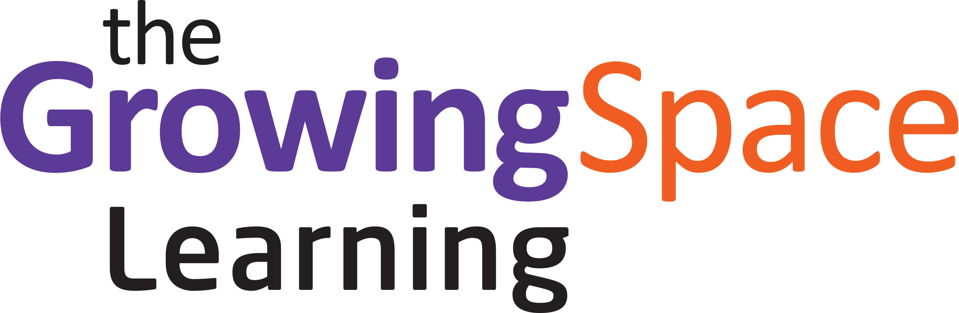 Image of growing space learning logo